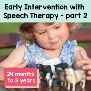 Early Intervention Speech Therapy -2 1